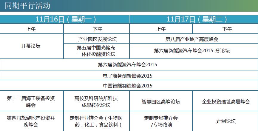 第六届新能源汽车峰会暨展览会2015