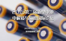 2015第二届新型电池电解质与隔膜国际论坛