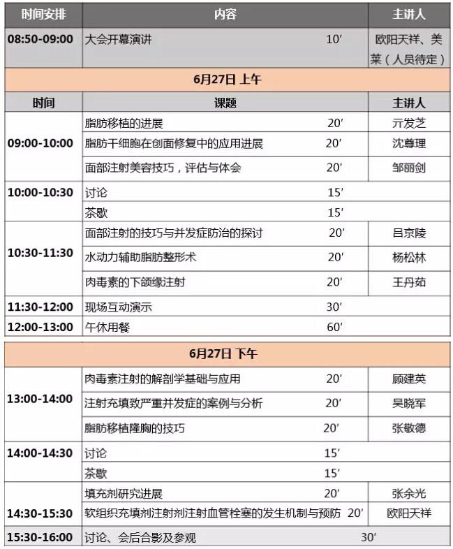 上海市中西医结合学会第一届微整峰会