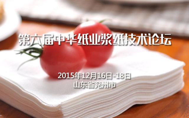第六届中华纸业浆纸技术论坛