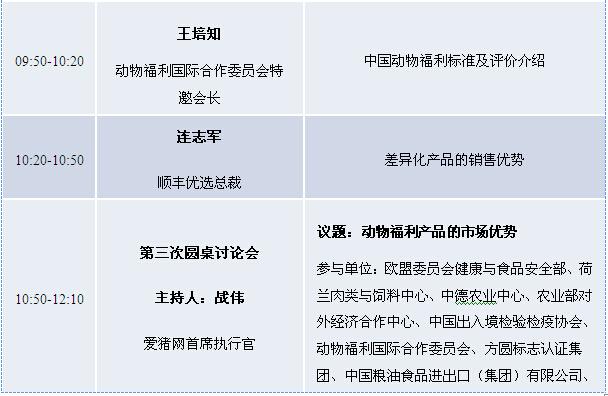 2015中国动物福利与畜禽产品安全质量安全论坛