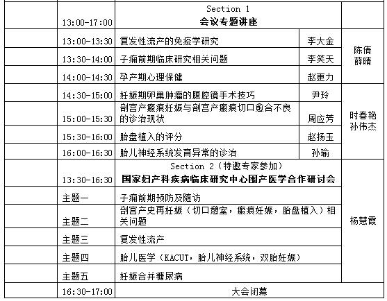 2015年中国围产医学发展战略研讨会