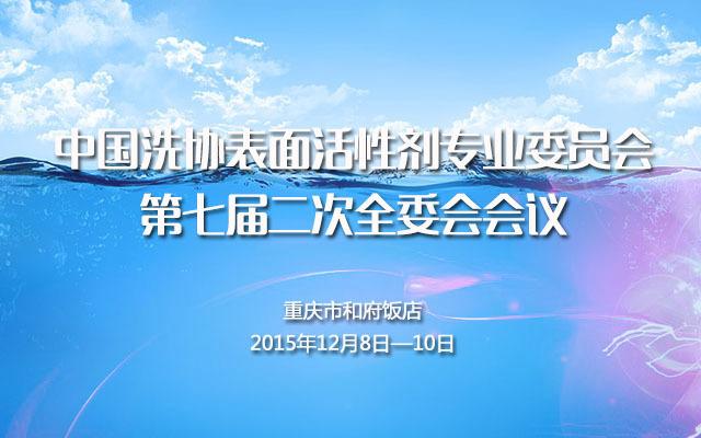 中国洗协表面活性剂专业委员会第七届二次全委会会议