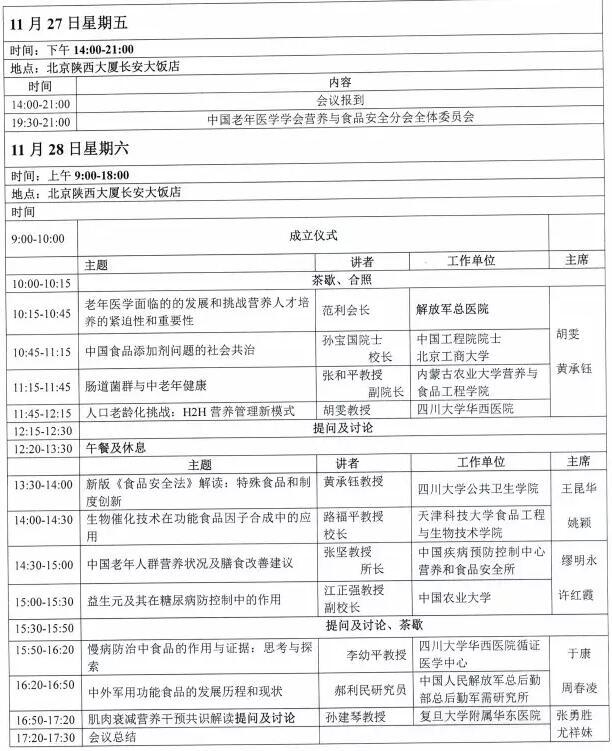 中国营养与功能食品创新科技论坛