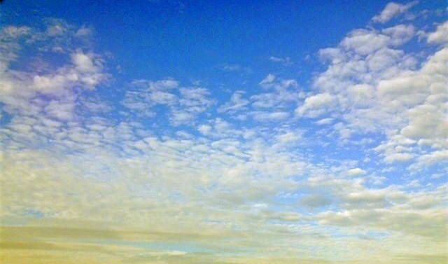 留住天上的云