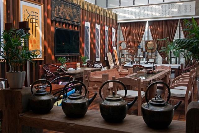 谈天说地茶艺馆