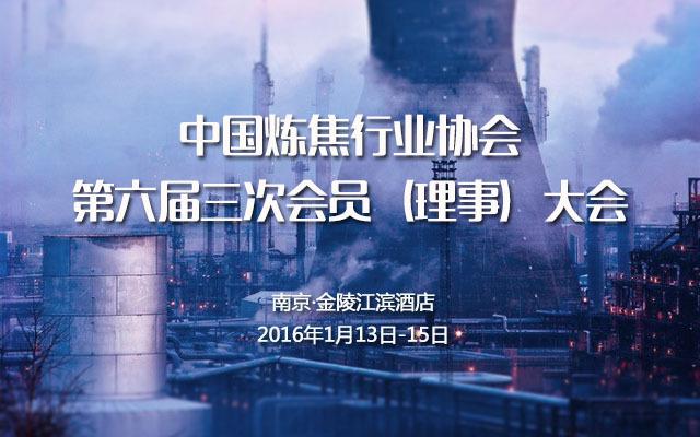 中国炼焦行业协会第六届三次会员(理事)大会