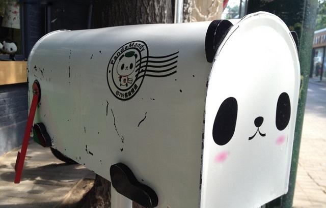 写给未来的信,可爱的熊猫帮你寄