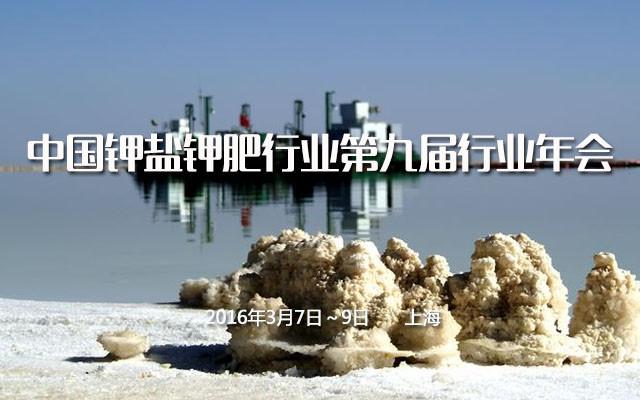 中国钾盐钾肥行业第九届行业年会