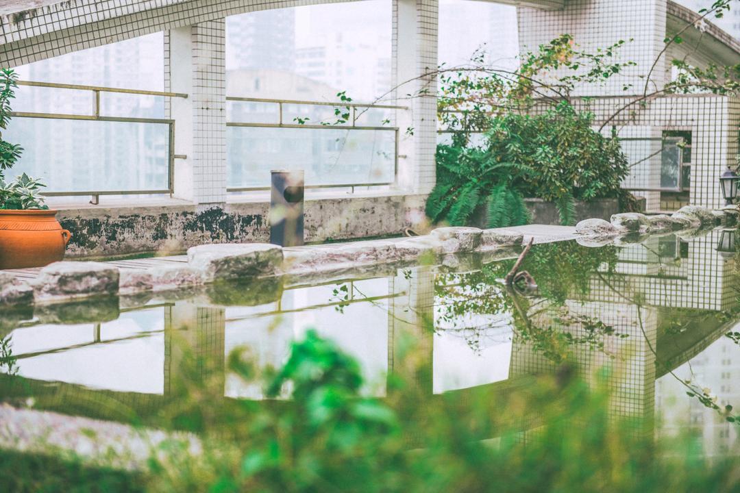 屋顶花园家庭公寓