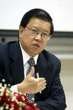国家外经贸部副部长龙永图照片