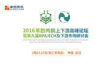 2016苯酚丙酮上下游高峰论坛暨第九届BPA/ECH及下游市场研讨会