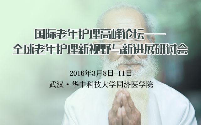 国际老年护理高峰论坛——全球老年护理新视野与新进展研讨会