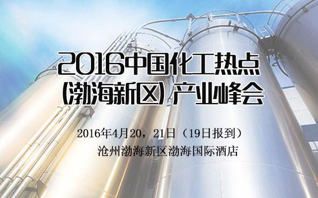 2016中国化工热点(渤海新区)产业峰会