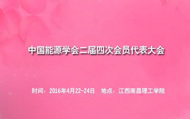 中国能源学会二届四次会员代表大会