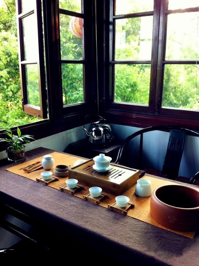 四照阁茶室