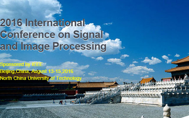 2016年第1届信号和图像处理国际会议