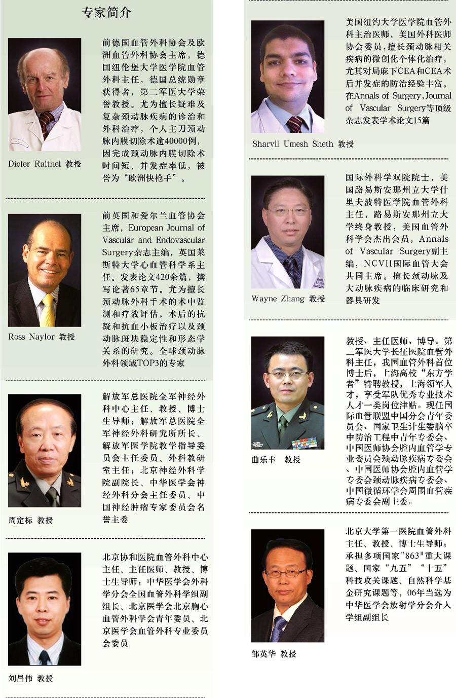 第五届中华颈动脉外科高峰论坛暨国际颈动脉外科峰会(CCS 2016)