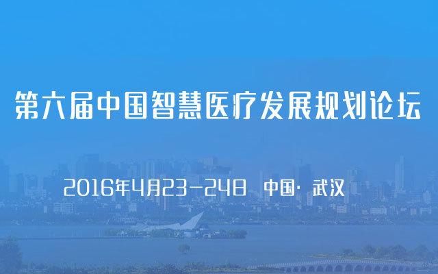 第六届中国智慧医疗发展规划论坛