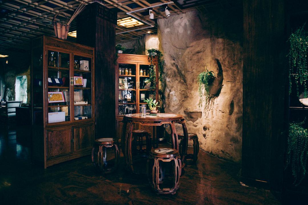 曲荫山房茶室