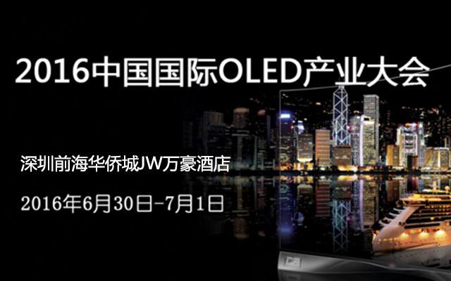 2016中国国际OLED产业大会