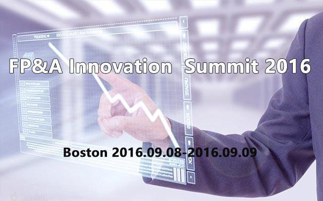 FP&A Innovation  Summit 2016