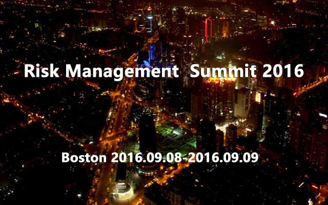 Risk Management  Summit 2016