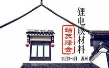 2016锂电膜材料姑苏峰会