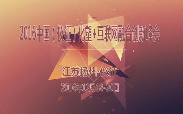 2016中国(仪征)化塑+互联网融合创新峰会