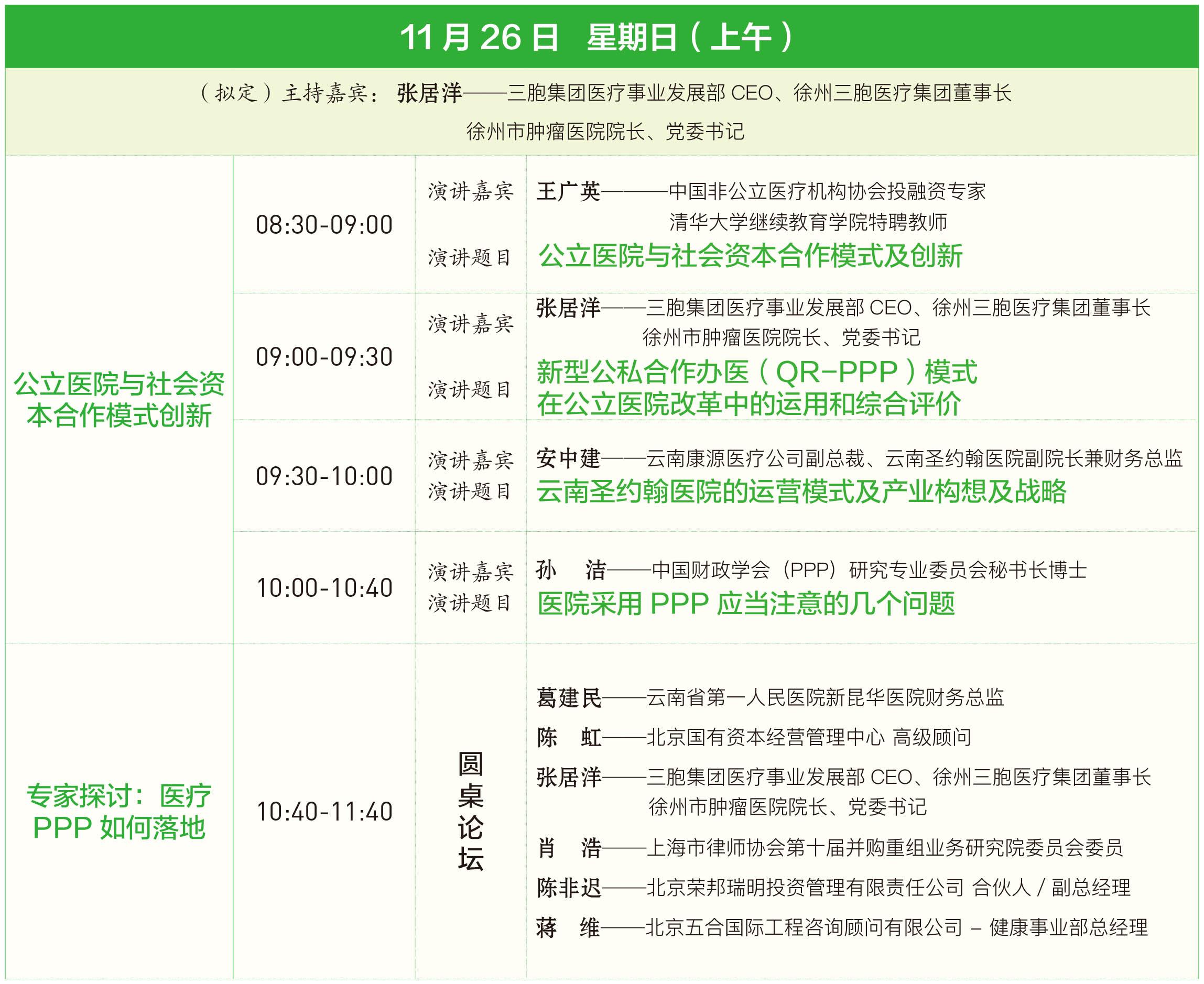 第三届中国健康产业PPP发展论坛