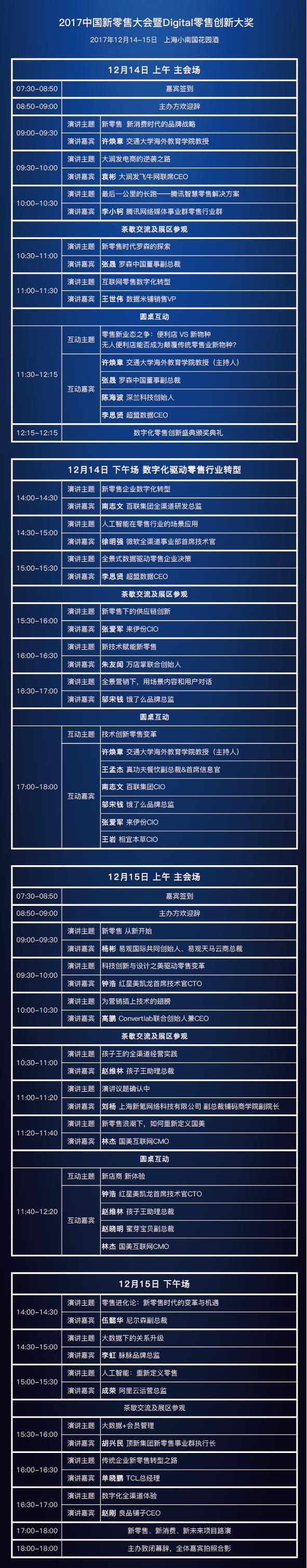CNC 2017中国新零售大会暨数字零售创新大奖