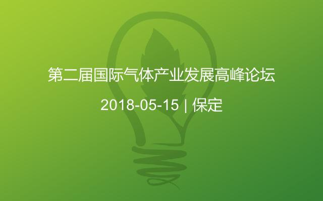 第二届国际气体产业发展高峰论坛