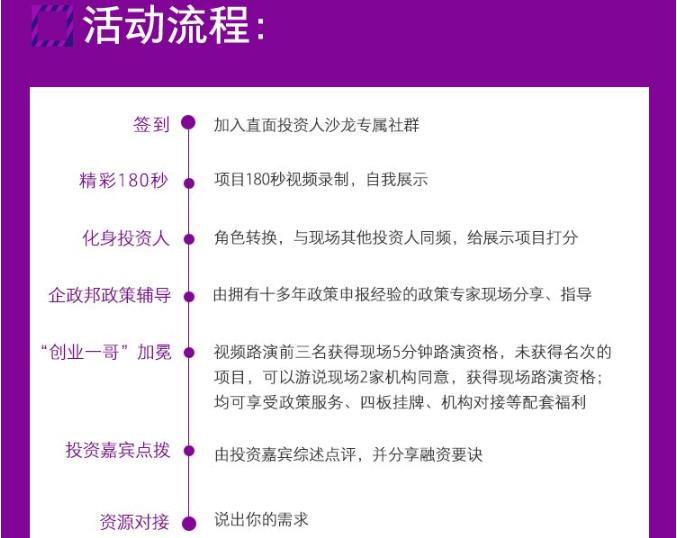 2018第六期【直面投资人】投融资对接沙龙(医疗大健康领域)