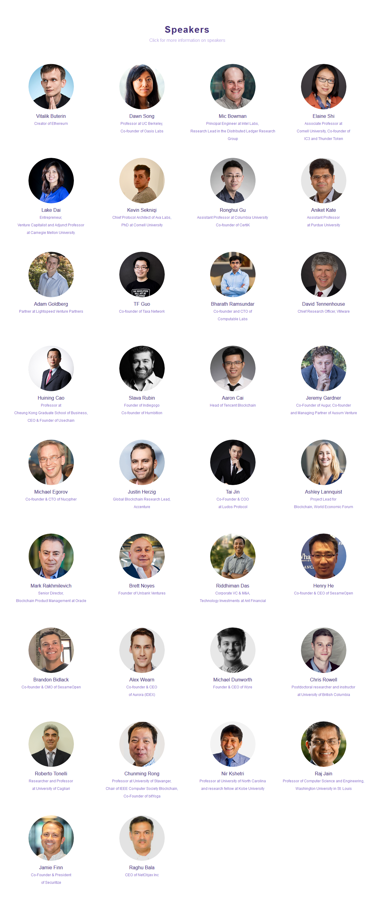 BLOCKCHAIN CONNECT CONFERENCE: ACADEMIC 2019
