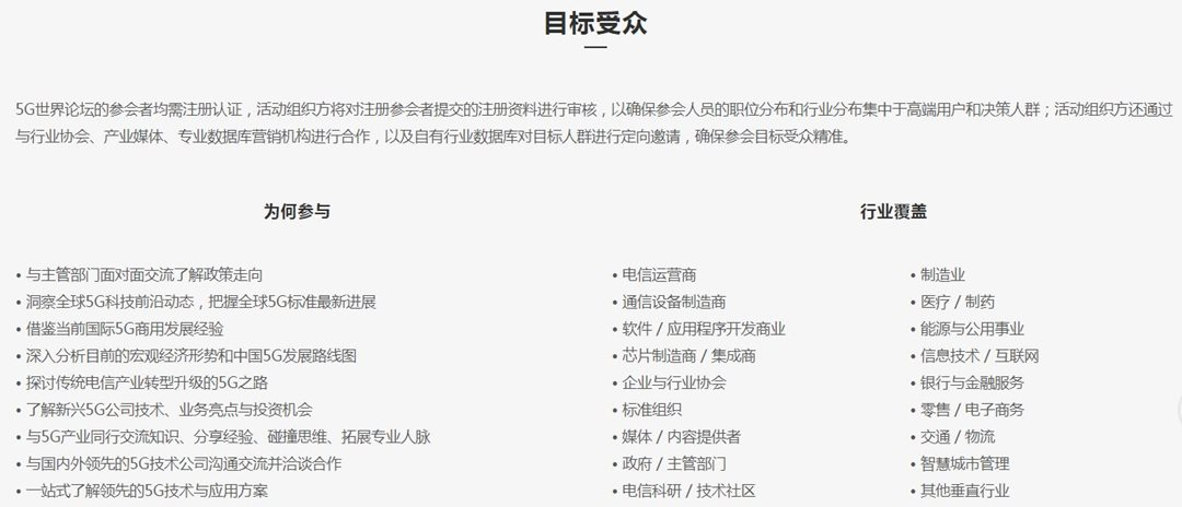 20195G世界论坛(北京)