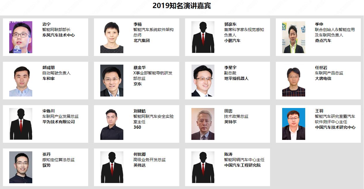 第二届智能网联汽车国际论坛2019(上海)