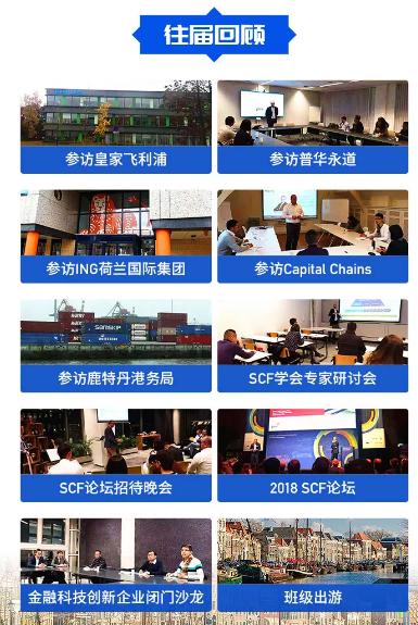 欧洲供应链金融游学(6天游学荷兰) Europe SCF Executive Mission