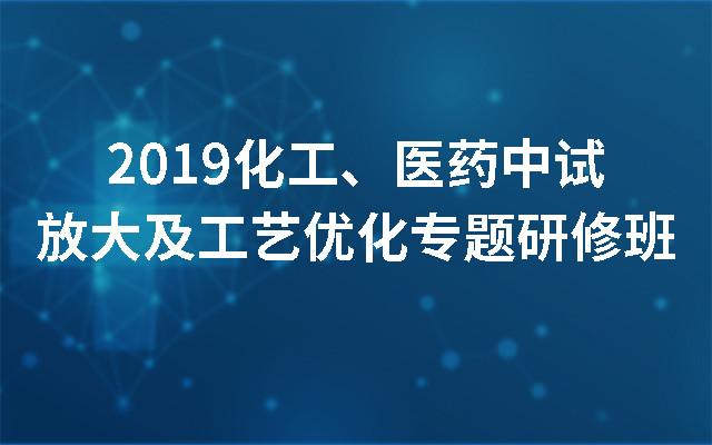2019化工、医药中试放大及工艺优化专题研修班(杭州)