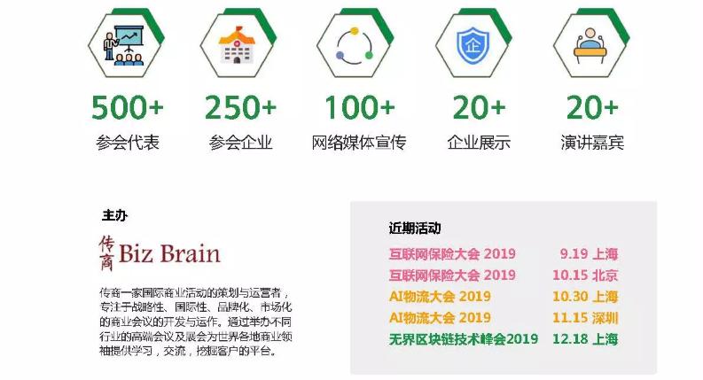 无界区块链技术峰会2019 12.18 上海