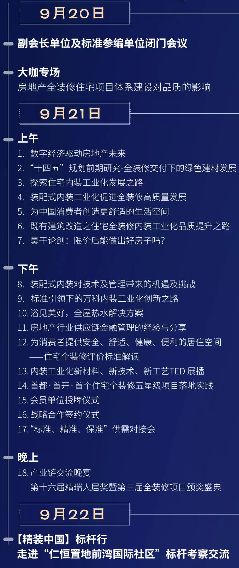 标准筑美好·追梦星未来—2019第三届全装修产业领袖峰会暨内装工业化国际论坛(杭州)