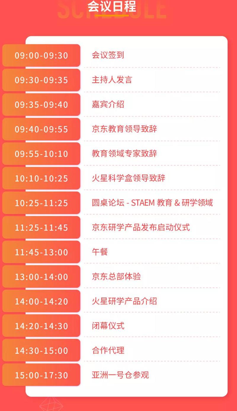 2019京东教育&火星科学盒研学产品发布会(北京)