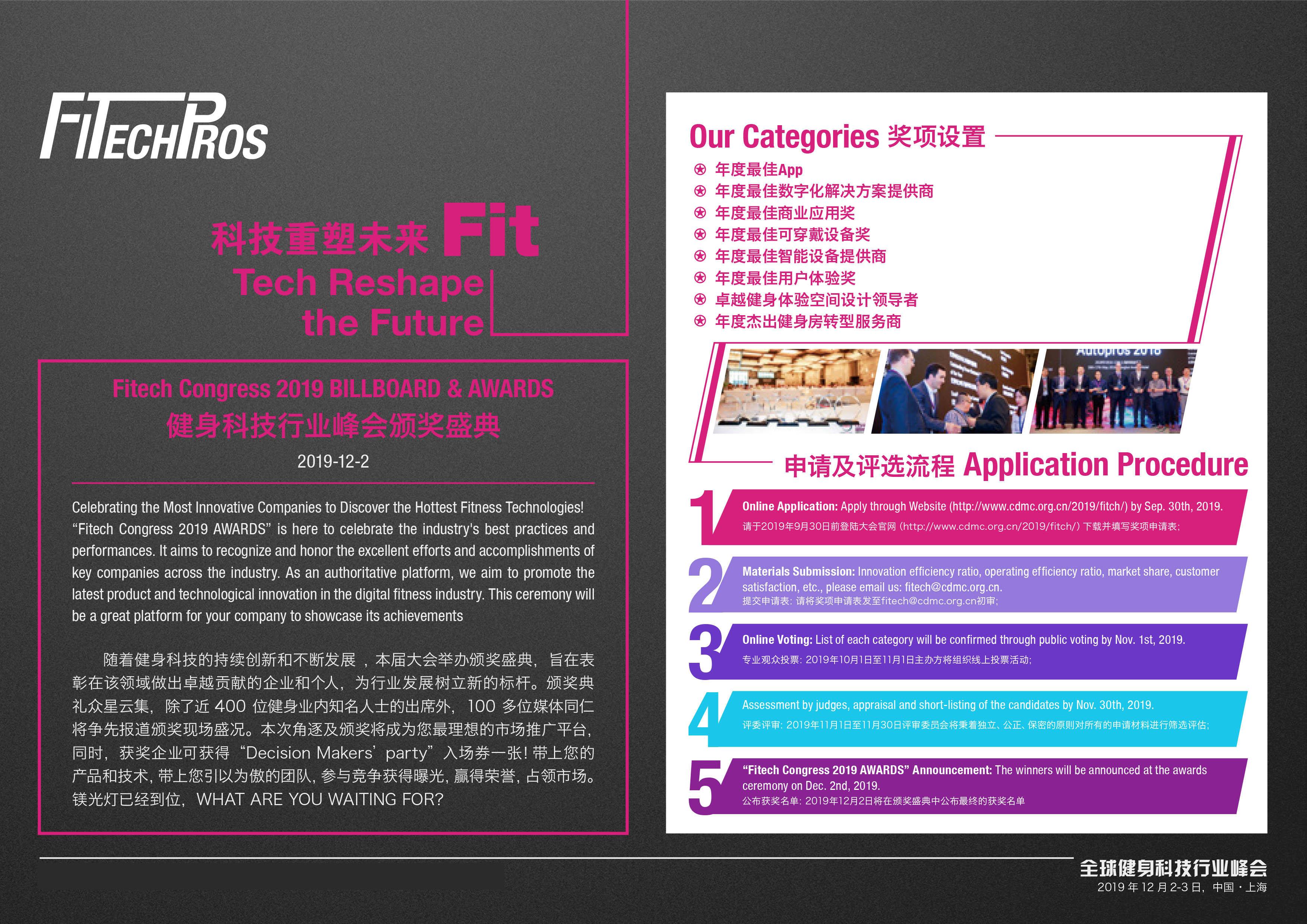 全球健身科技行業峰會2019上海