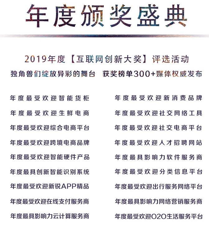 2019中国互联网经济年会
