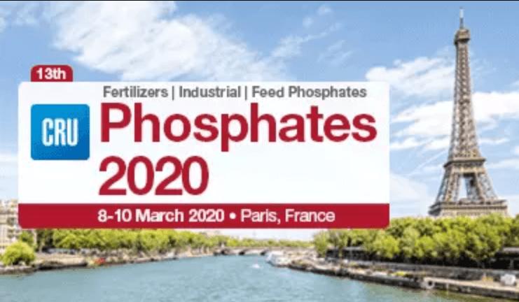 CRU第13届磷酸盐大会 2020