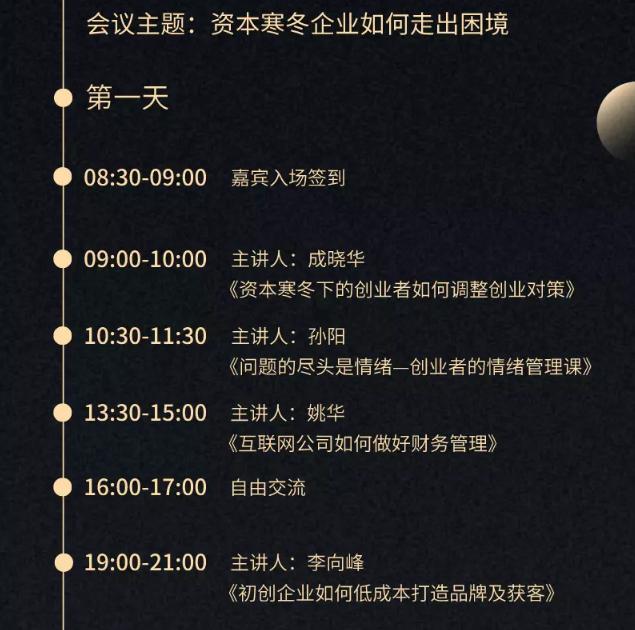 2020資本寒冬企業如何走出困境(深圳)