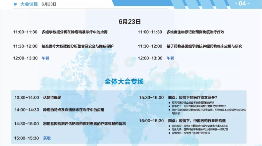 TMP2020腫瘤分子診斷與精確用藥論壇(上海)