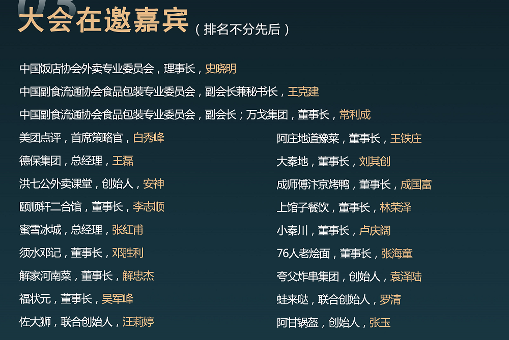 2021中國餐飲供應鏈創新峰會