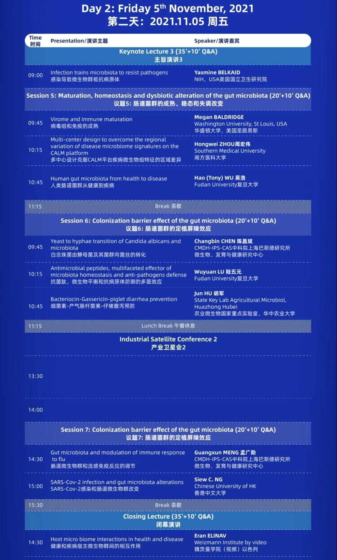 2021(首届)微生态科学-从疾病到健康国际研讨会暨2021(第七届)肠道微生态与健康国际研讨会