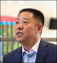 大连长波集团前任董事长徐长波照片