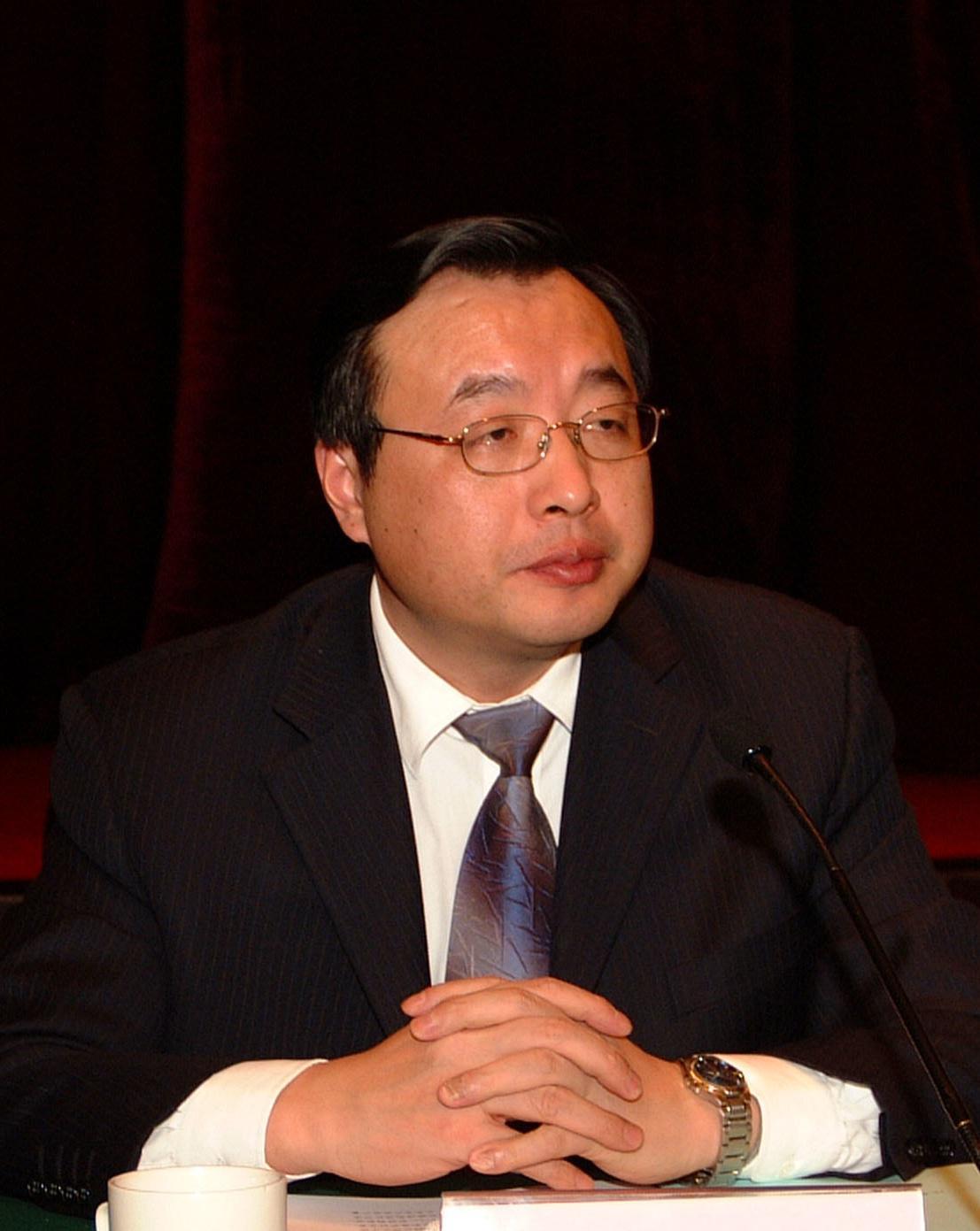 江苏省海洋与渔业局副局长沈毅照片